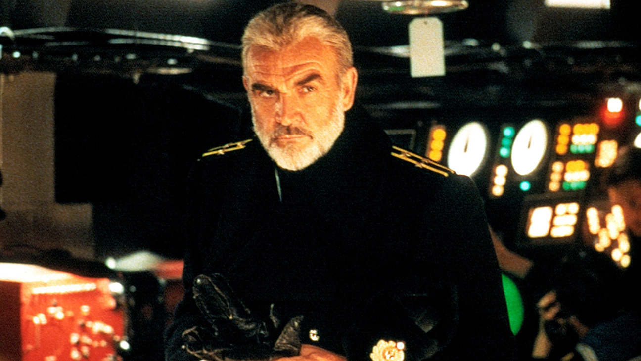 Sean Connery as Captain Marko Ramius in The Hunt for Red October (1990)