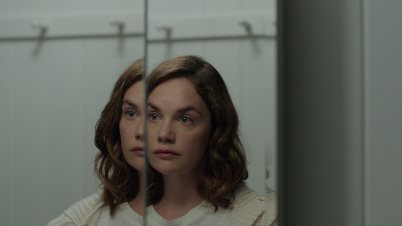 Ruth Wilson as the haunted care-aid Lily Saylor in I Am the Pretty Thing That Lives in the House (2016)