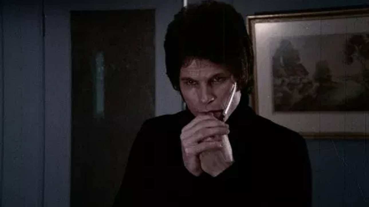 Zooey Hall as the psychopathic Albert in I Dismember Mama (1972)