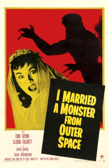 I Married a Monster from Outer Space (1958) poster