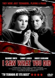 I Saw What You Did (1988) poster