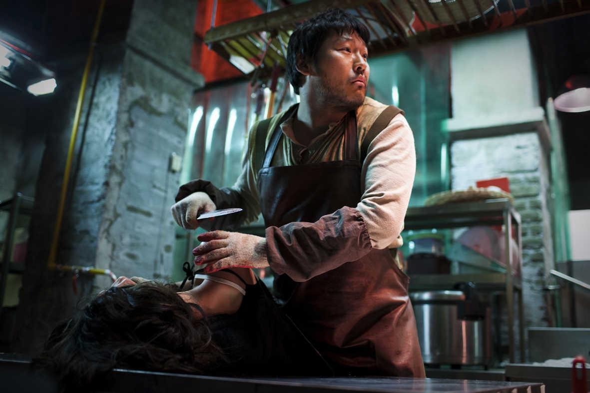 Serial killer Min-sik Choi in I Saw the Devil (2010)