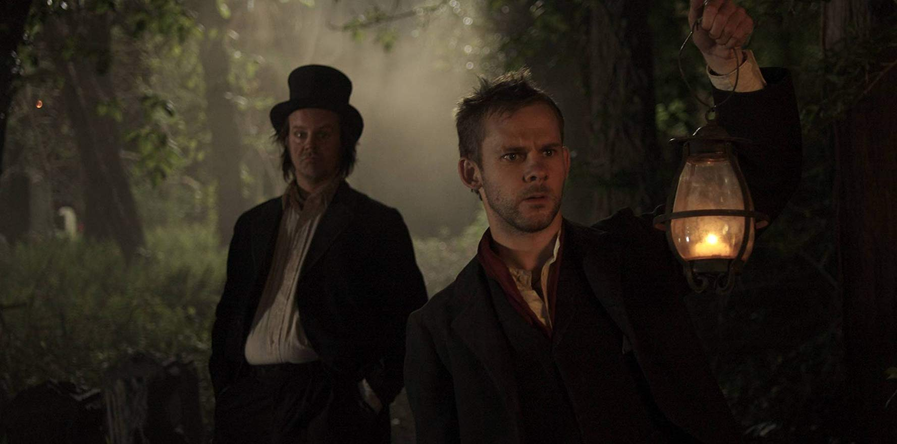 Body snatchers Grimes (Larry Fessenden) and Blake (Dominic Monaghan) in I Sell the Dead (2008)