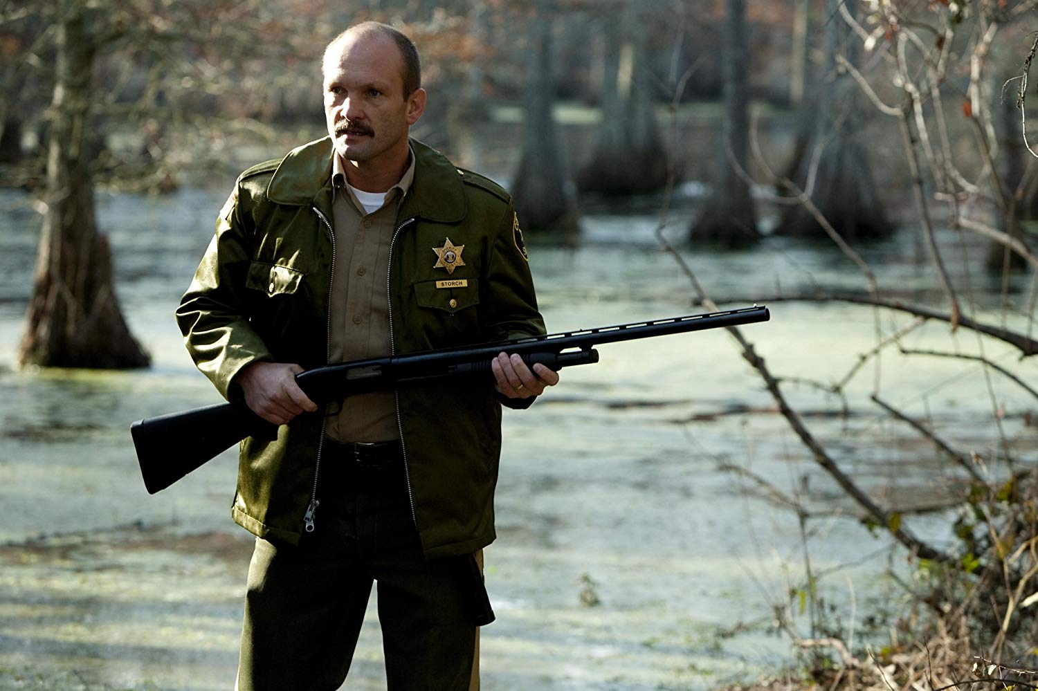 Andrew Howard as the sheriff in I Spit on Your Grave (2010)