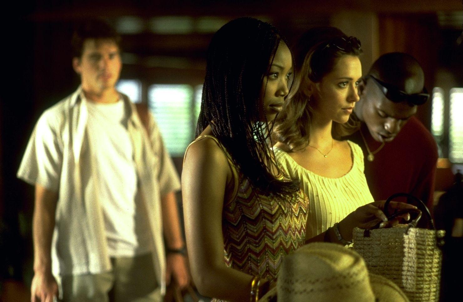 Matthew Settle, Brandy, Jennifer Love Hewitt and Mekhi Phifer in I Still Know What You Did Last Summer (1998)