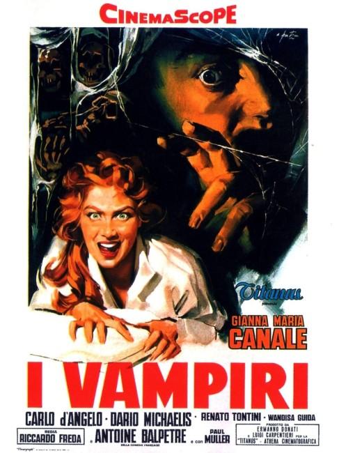 I Vampiri (1957) poster
