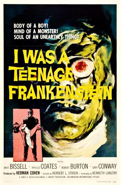 I Was a Teenage Frankenstein (1957) poster