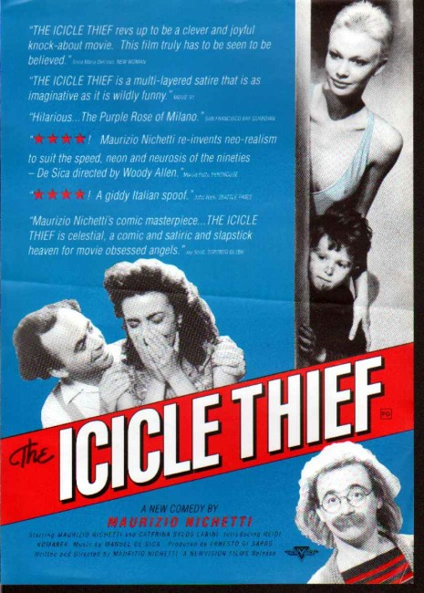 The Icicle Thief (1989) poster