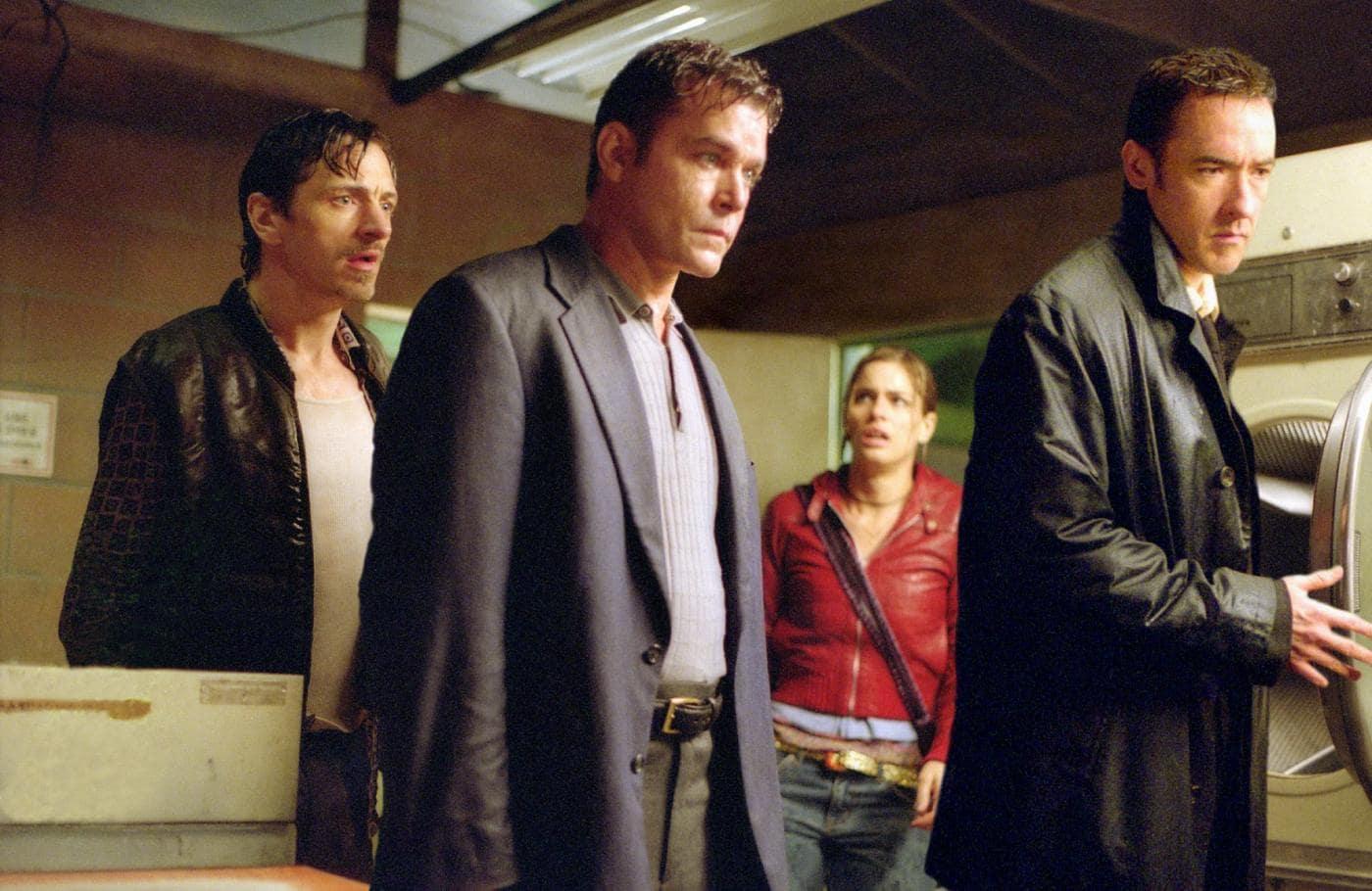 John Hawkes, Ray Liotta, Amanda Peet and John Cusack in Identity (2003)