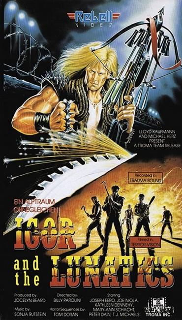 Igor and the Lunatics (1985) poster
