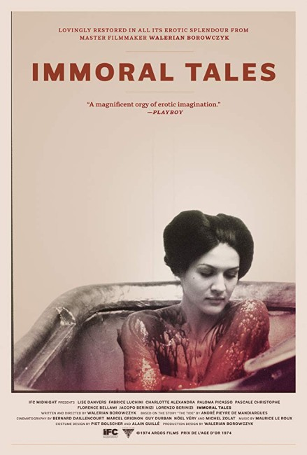 Immoral Tales (1974) poster