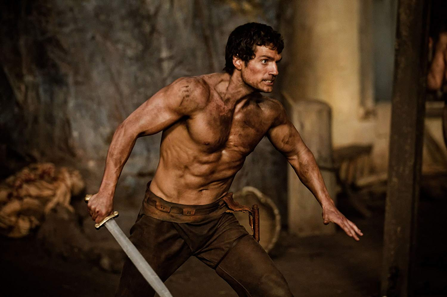 Henry Cavill as Theseus in Immortals (2011)