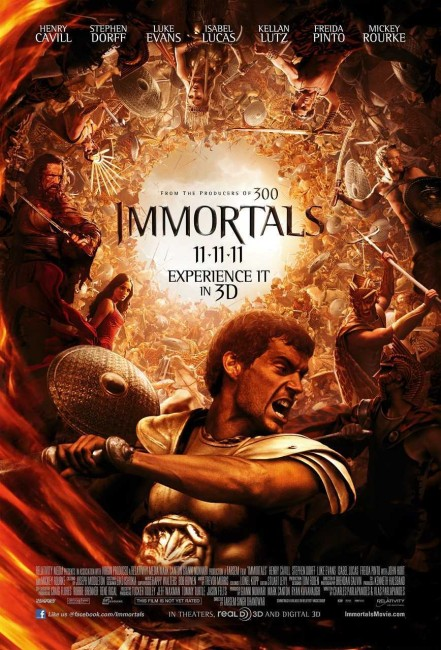 Immortals (2011) poster
