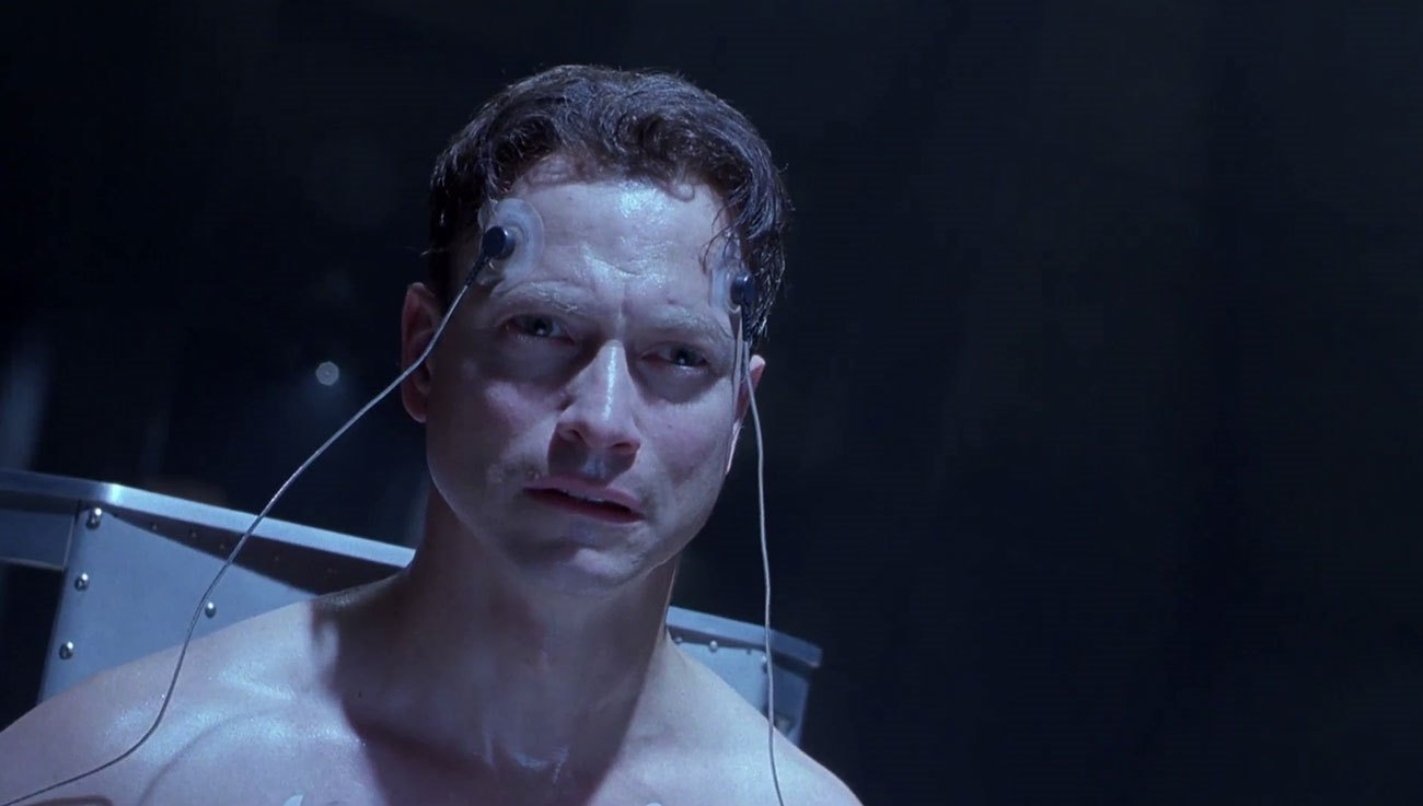 Gary Sinise - accused of being an android impostor in Impostor (2002)
