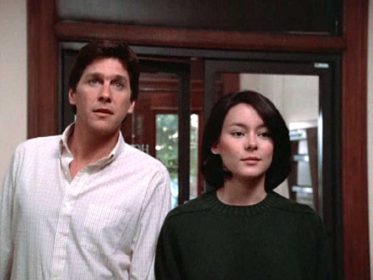 Tin Matheson and Meg Tilly in Impulse (1984)