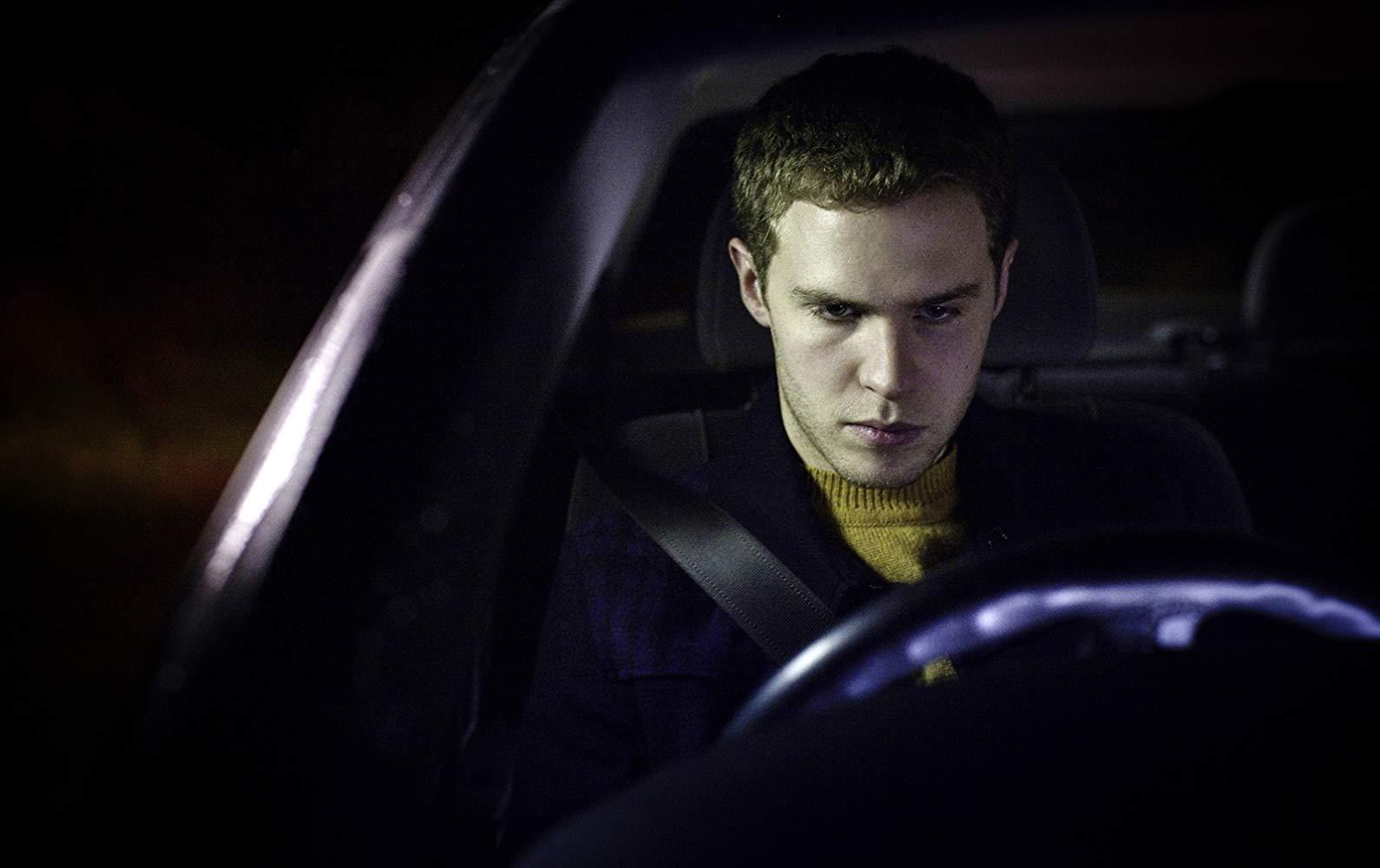 Iain De Caestecker behind the wheel in In Fear (2013)