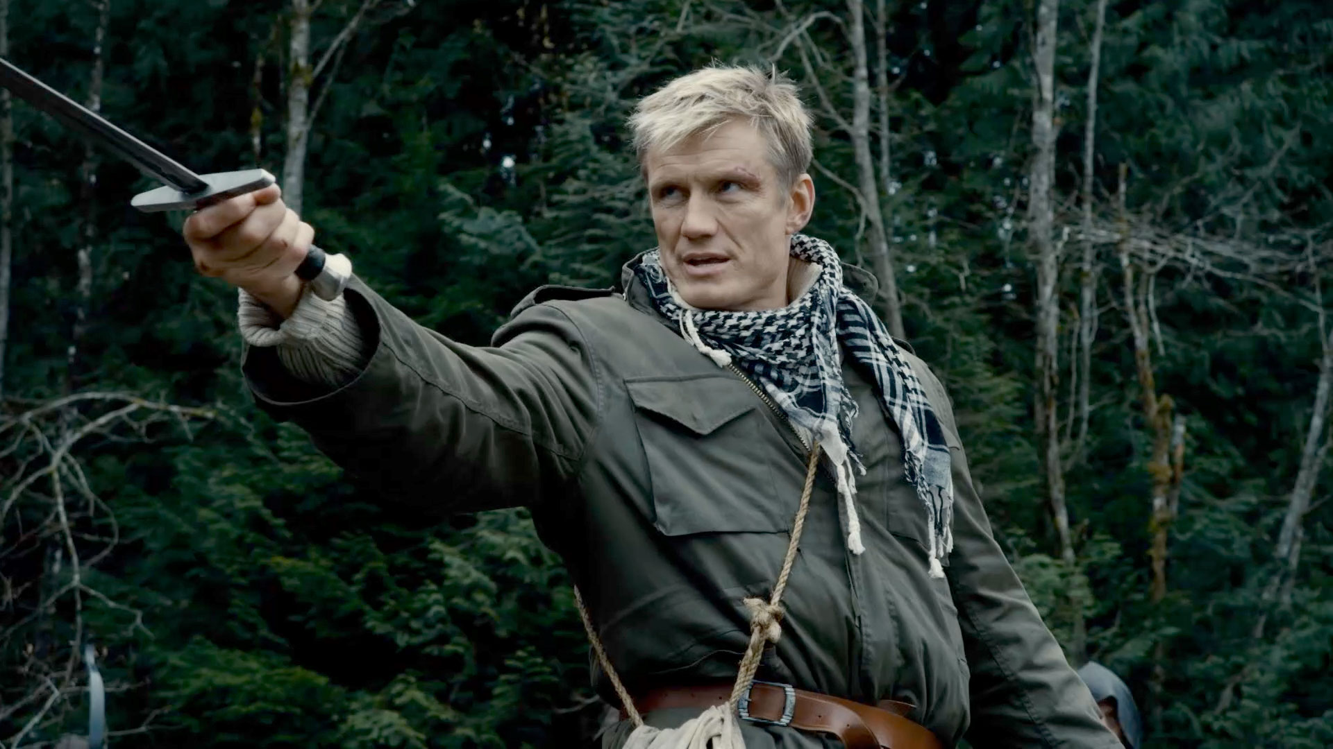 Dolph Lundgren as the soldier Granger displaced into another world in In the Name of the King: Two Worlds (2011)