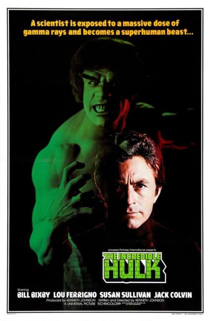 The Incredible Hulk (1977) poster
