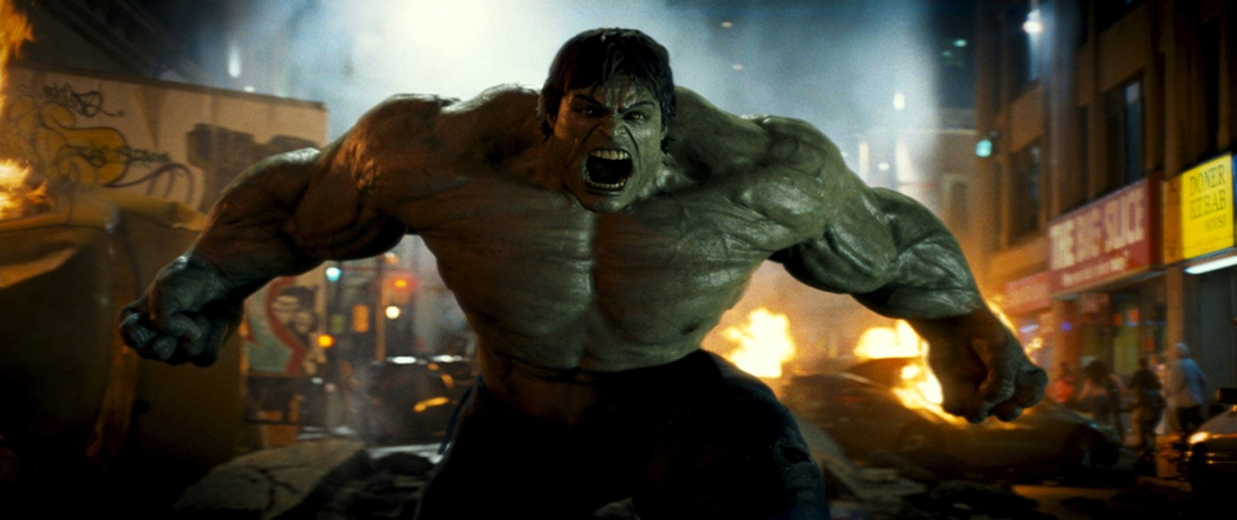Edward Norton as The Hulk in The Incredible Hulk (2008)