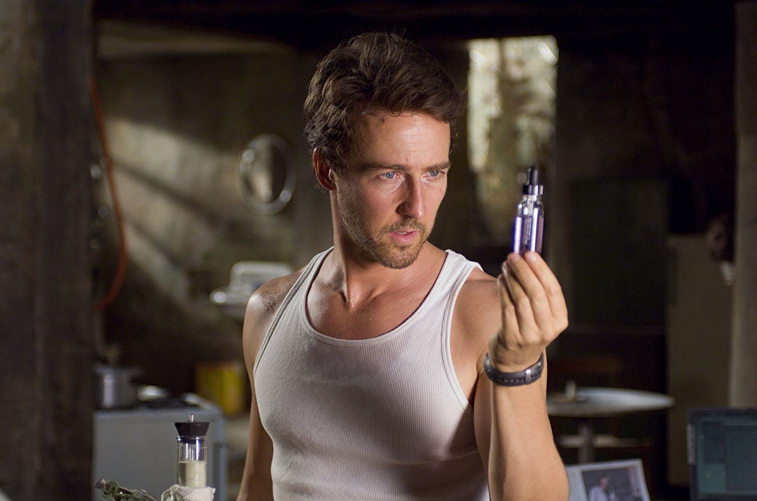 Edward Norton as Bruce Banner in The Incredible Hulk (2008)
