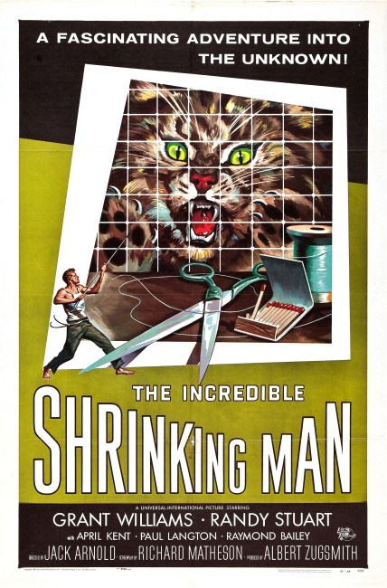 The Incredible Shrinking Man (1957) poster