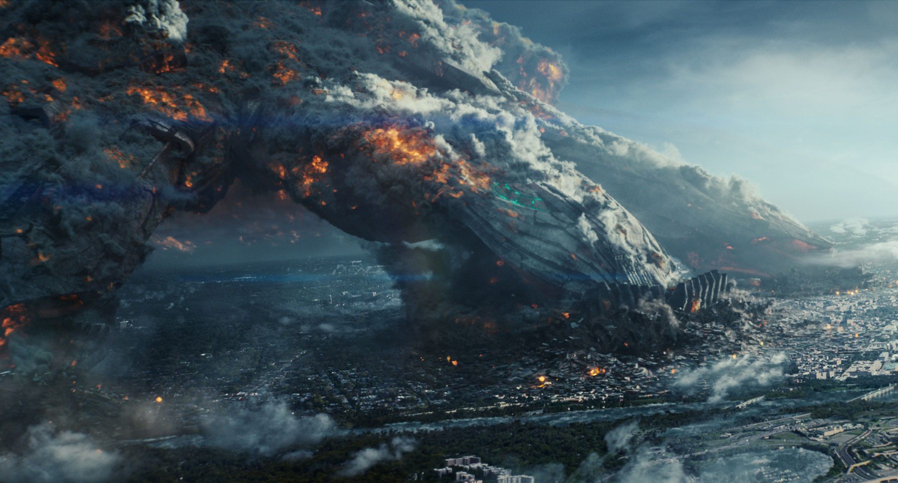 Epic mass destruction in Independence Day: Resurgence (2016)