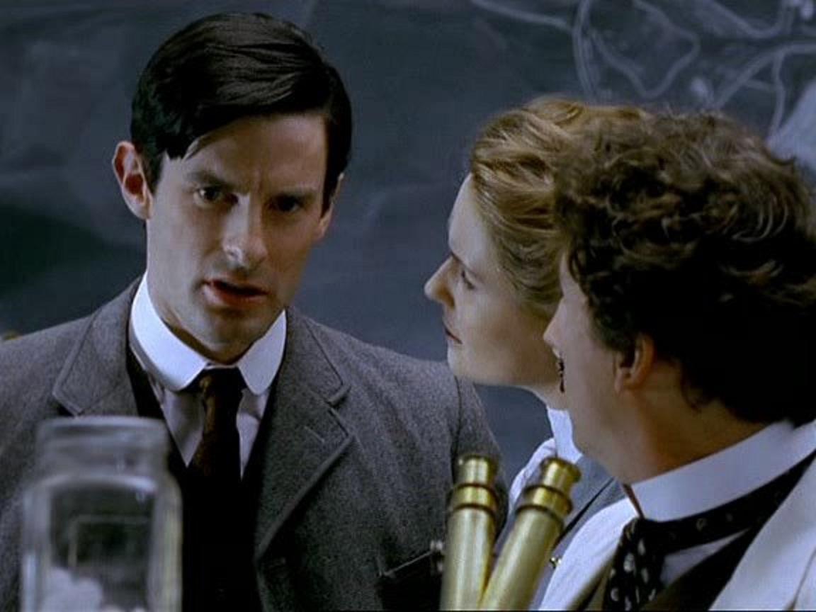 H.G. Wells (Tom Ward) in The Infinite Worlds of H.G. Wells (2001)
