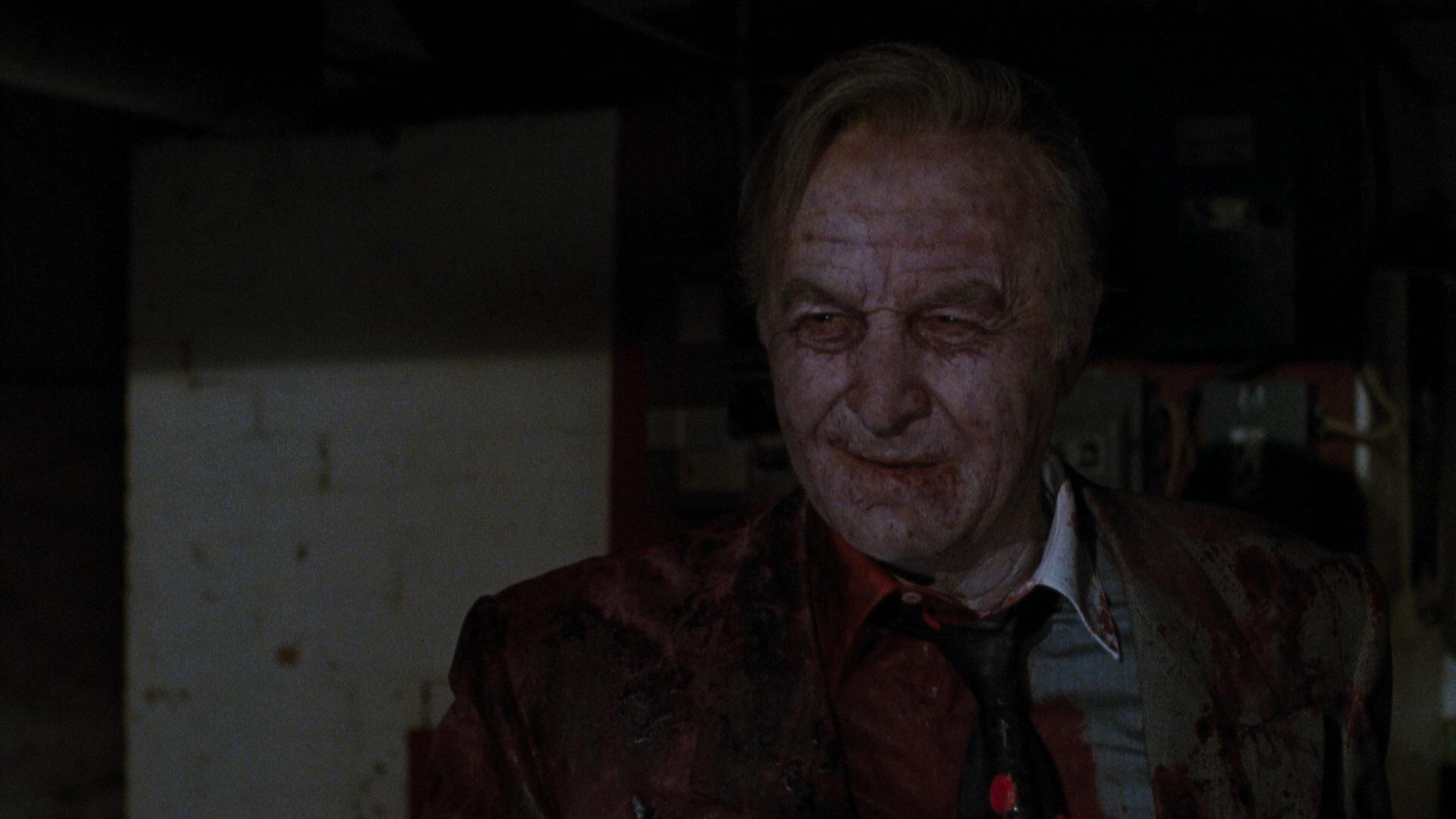 Robert Loggia as the vampirised Mafia boss Sal 'The Shark' Macelli in Innocent Blood (1992)
