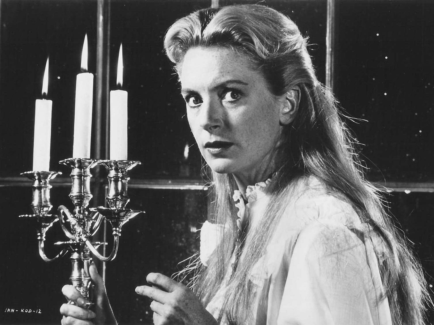 Deborah Kerr as the governess Miss Giddens in The Innocents (1961)