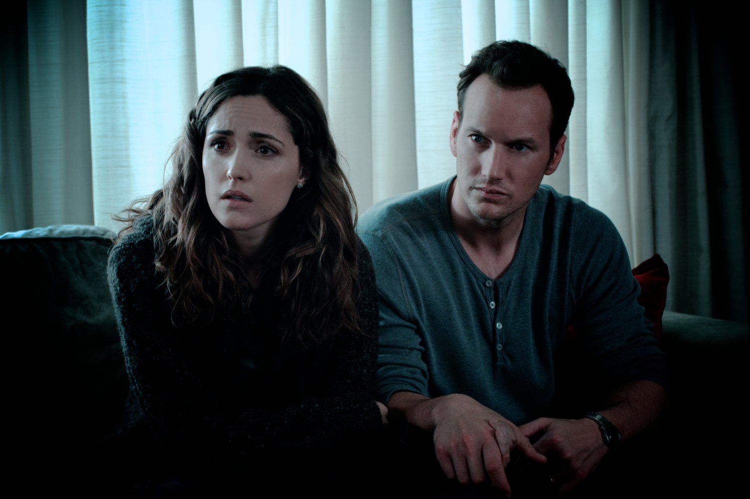 Rose Byrne and Patrick Wilson in Insidious (2010)
