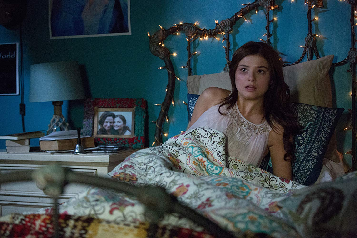 Bedridden teenager Stefanie Scott in Insidious Chapter 3 (2015)