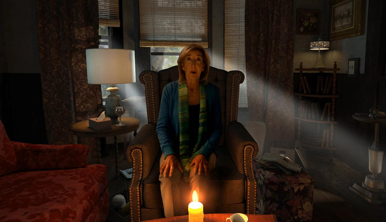 Elise Rainier (Lin Shaye) in Insidious Chapter 3 (2015)