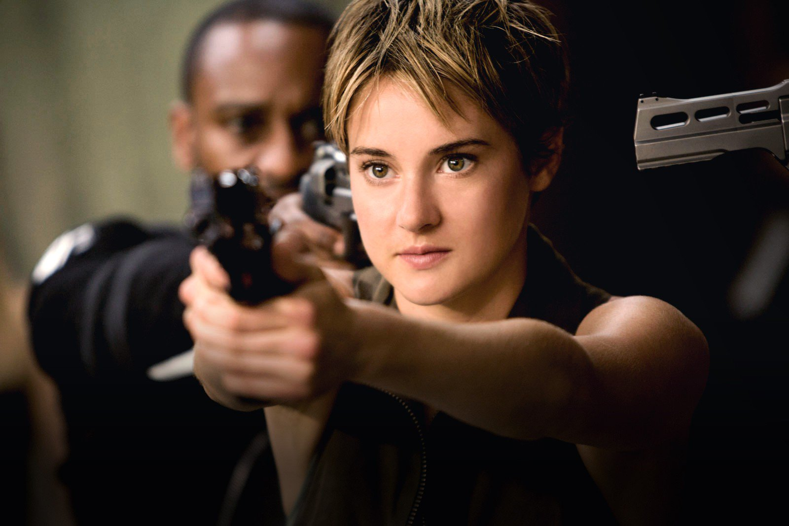 Tris Prior (Shailene Woodley) in Insurgent (2015)