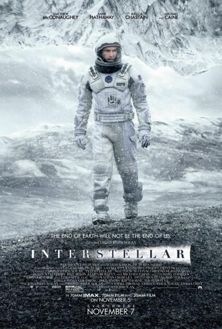 Interstellar (2014) poster