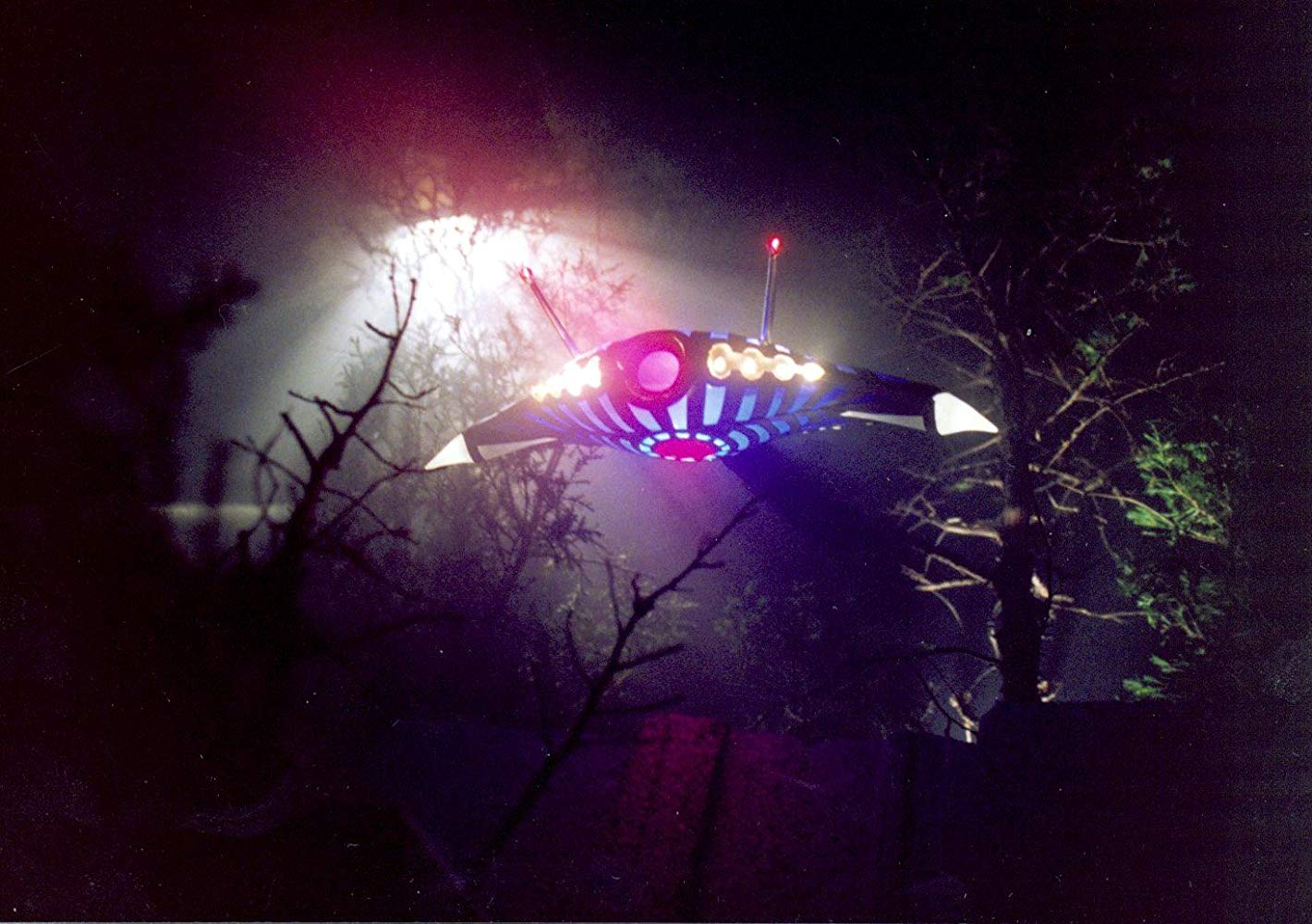 Appearance of the UFO in Invader (1992)