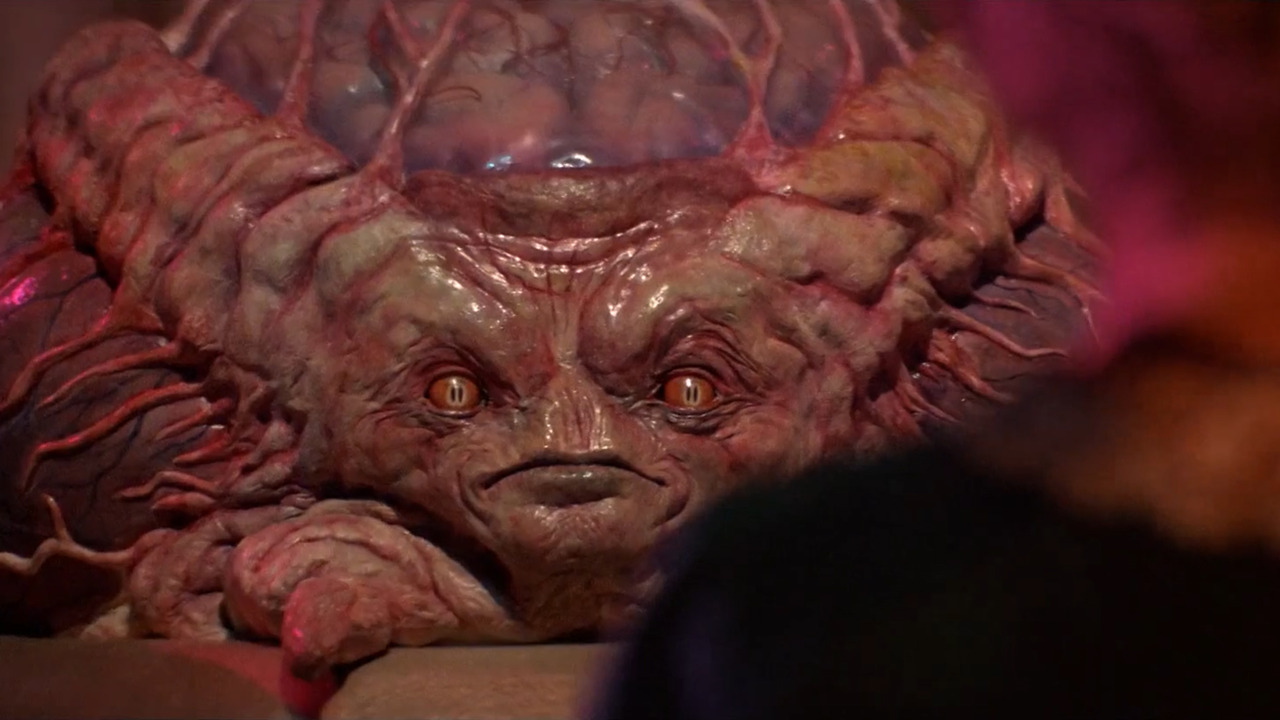 The Martian High Intelligence in Invaders from Mars (1986)