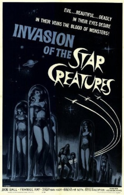 Invasion of the Star Creatures (1962) poster