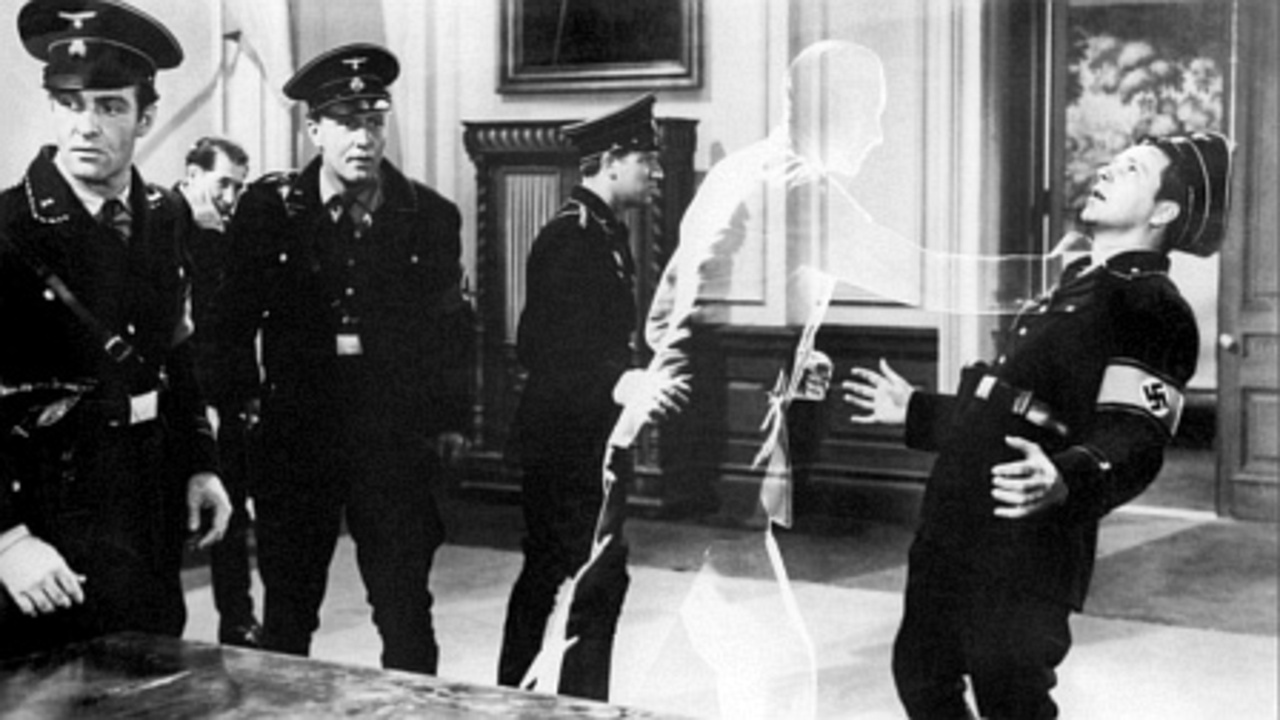 The Invisible Man tackles Nazis in Invisible Agent (1942)
