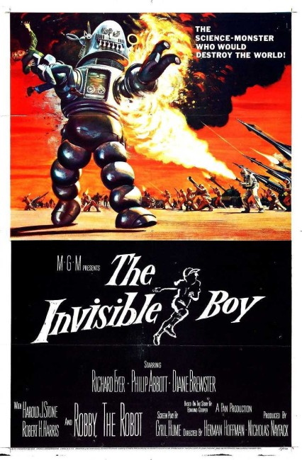 The Invisible Boy (1957) poster
