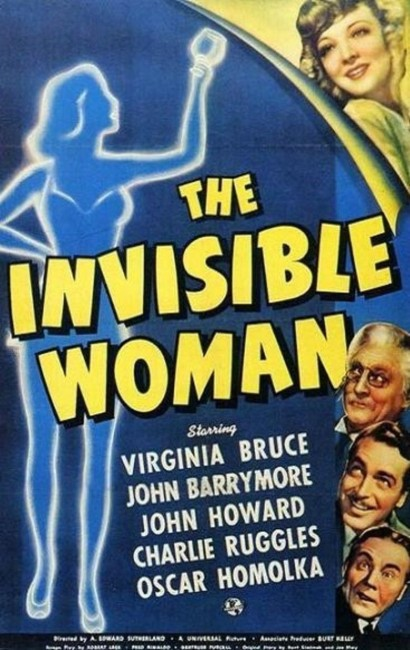 The Invisible Woman (1940) poster