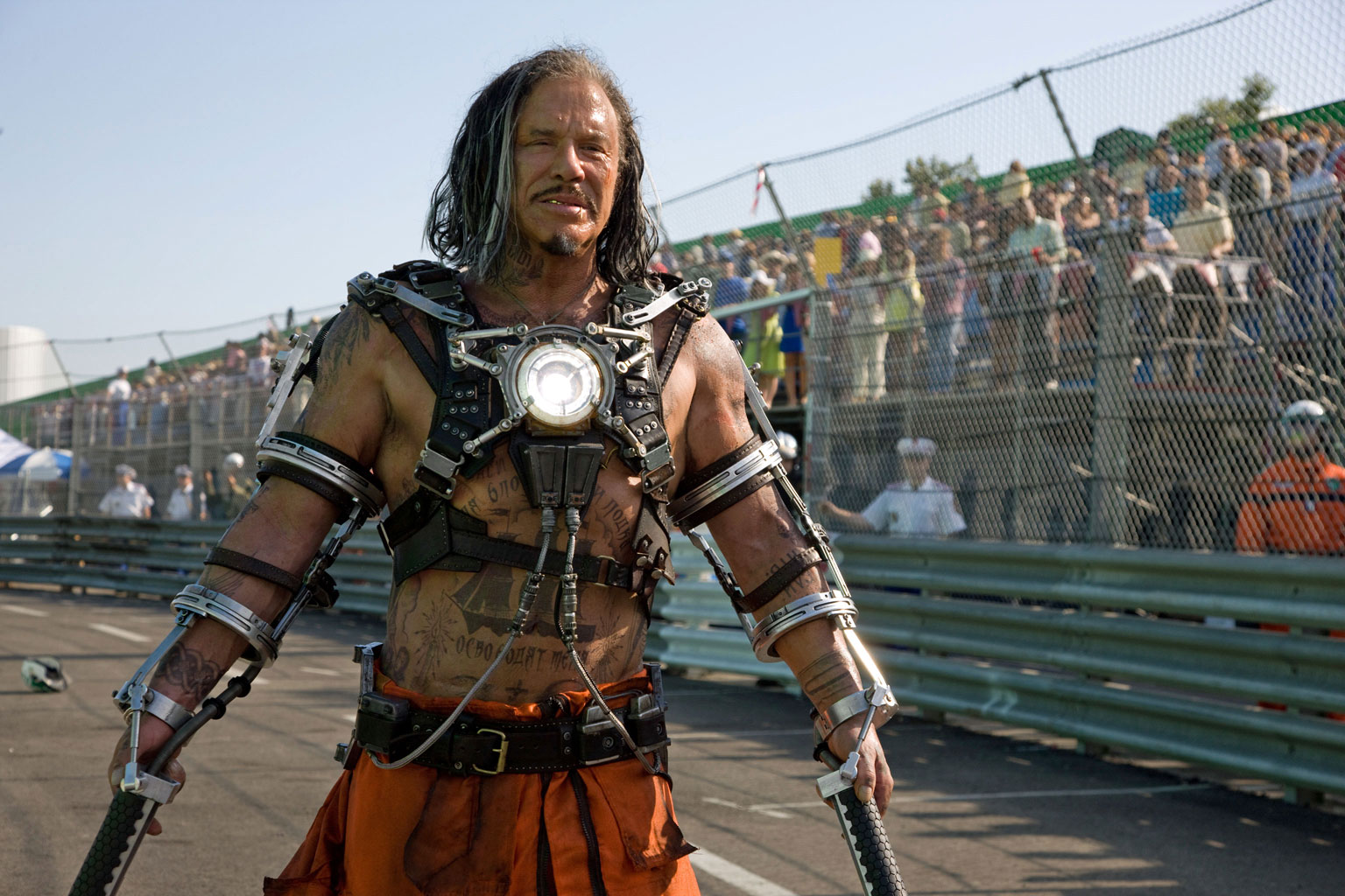 Mickey Rourke as Ivan Vanko/Whiplash in Iron Man 2 (2010)