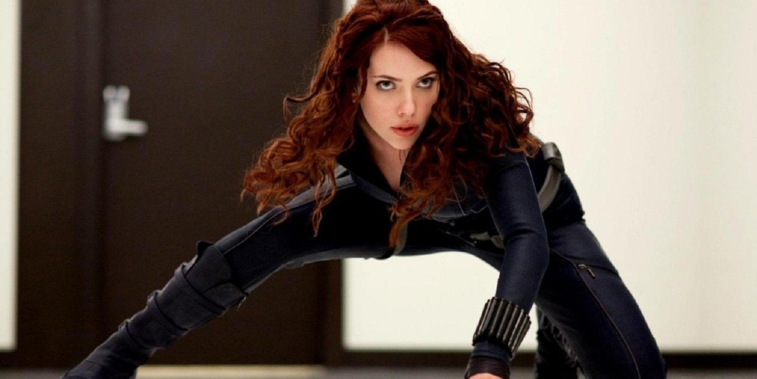 The introduction of Black Widow/Natasha Romanoff (Scarlett Johansson) in Iron Man 2 (2010)