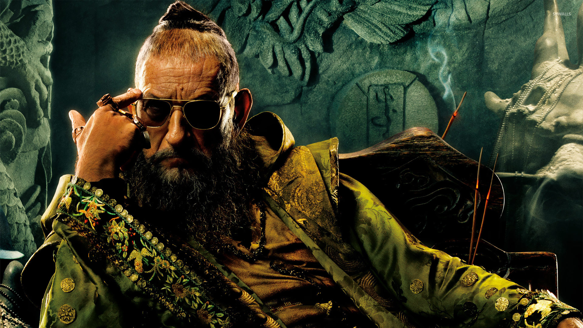 Ben Kingsley as The Mandarin in Iron Man Three (2013)