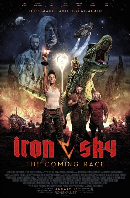 Iron Sky: The Coming Race (2019) poster
