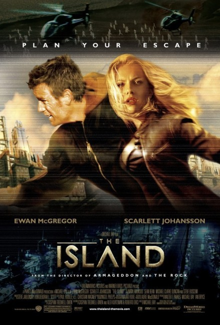 The Island (2005) poster