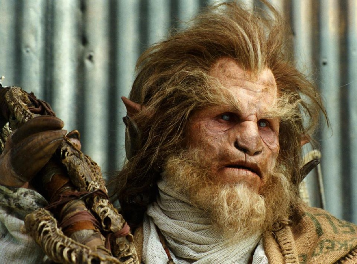 Ron Perlman as the Sayer of the Law in The Island of Dr Moreau (1996)