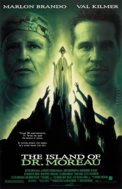 The Island of Dr Moreau (1996) poster