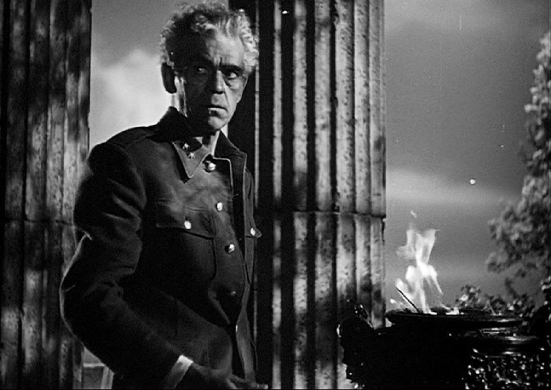 Boris Karloff as General Nicholas Pherides in Isle of the Dead (1945)