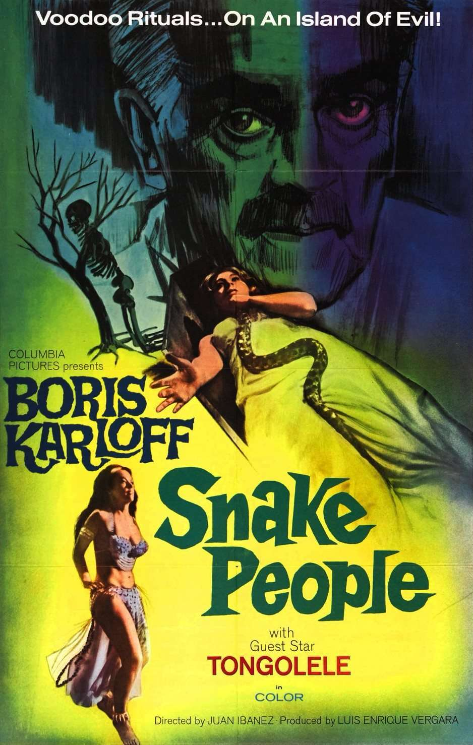 Isle of the Snake People (1971) poster