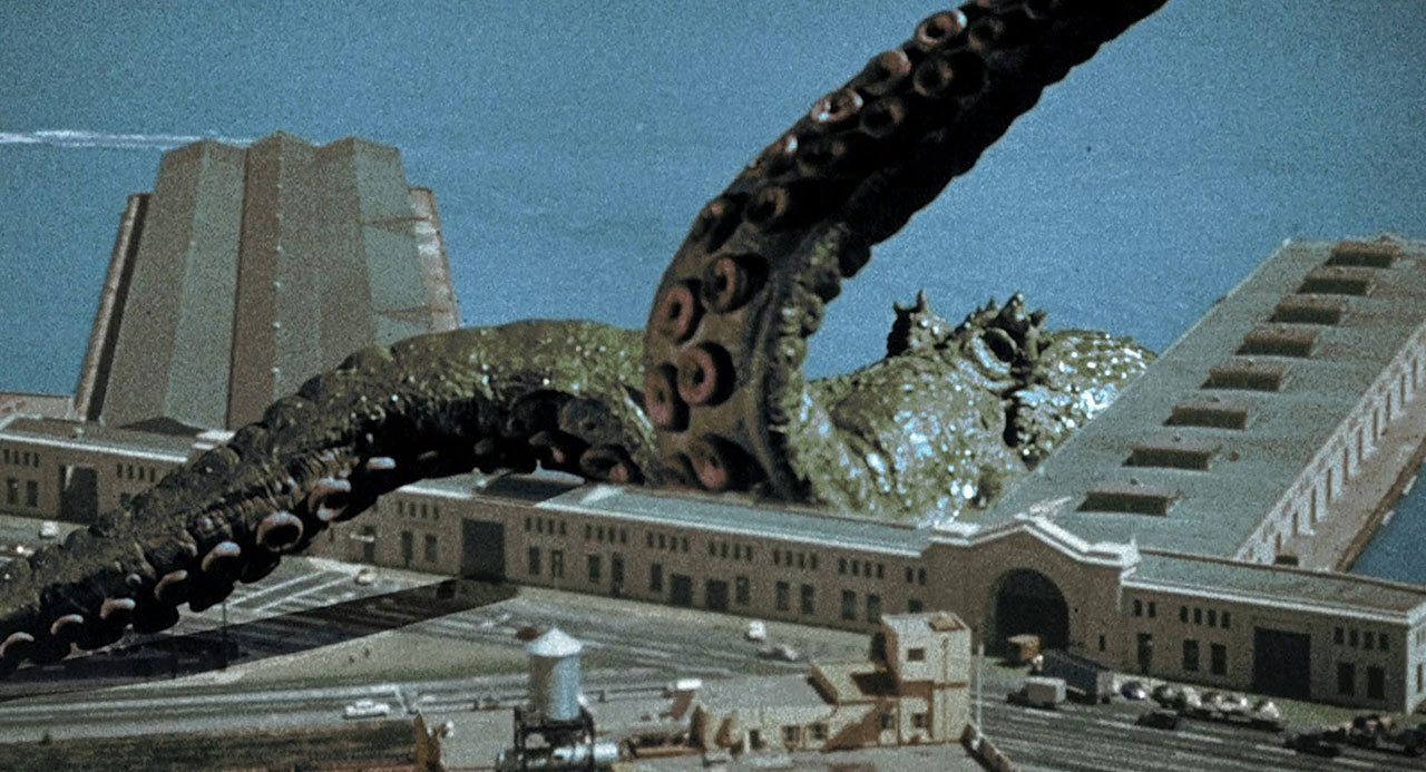 The giant octopus in It Came from Beneath the Sea (1955)